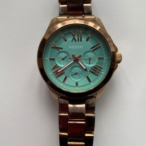 Authentic women's Fossil watch
